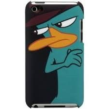 Perry the Platypus iPod Case!