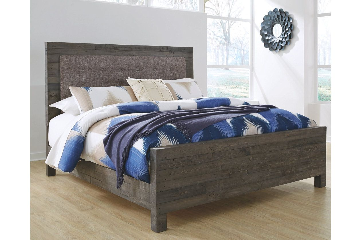 mayflyn queen panel bed ashley furniture homestore home pinterest