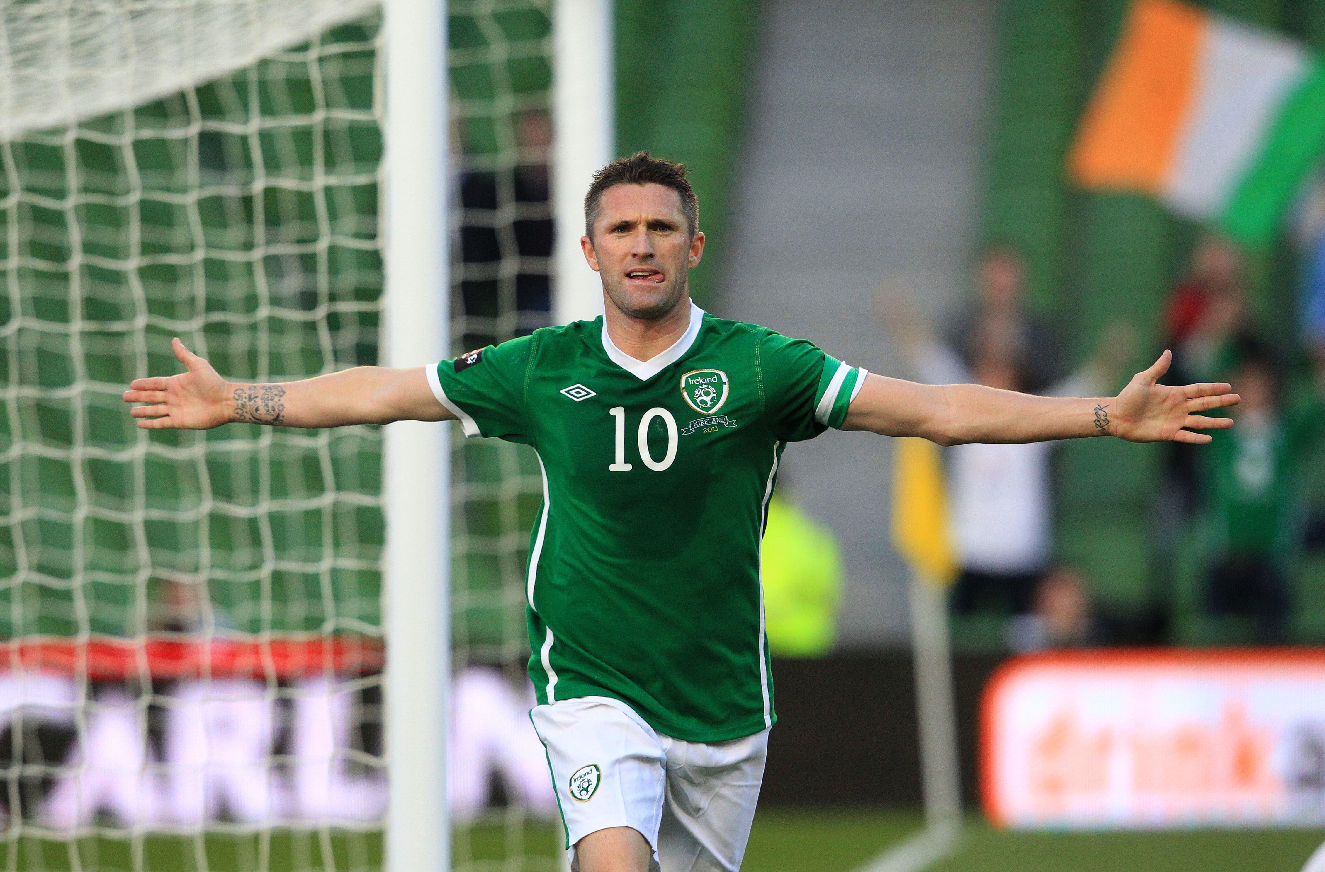 67 GOAL ROBBIE KEANE CALLS TIME ON IRELAND 'It has been a wonderful journey for me to have played with the Irish national team for over eighteen years since I made my senior international debut back in 1998. I have enjoyed it all.'