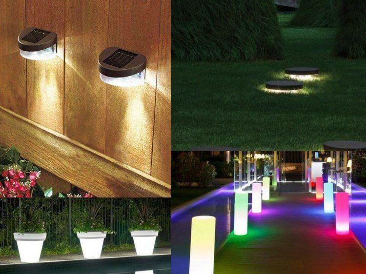 éclairage extérieur  LED en 50 idées de luminaire de jardin