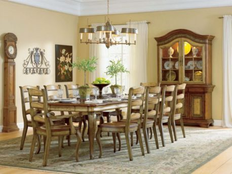 Hooker Furniture Vineyard 11 Piece Rectangular Dining Set