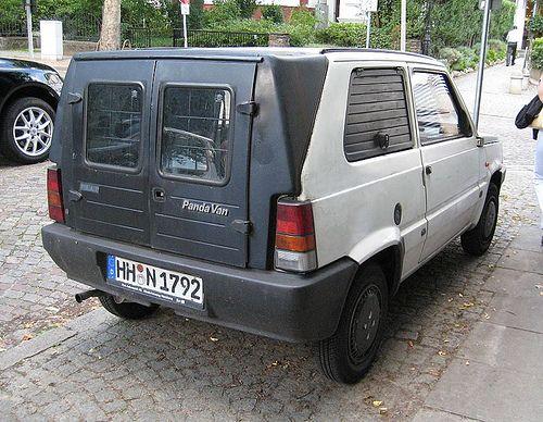 Fiat Panda Van Photo 05 イタリア 車 旧車 パンダ