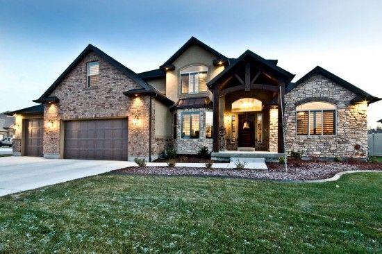 Pretty House Utah Home Builders Custom Home Plans Dream House Plans