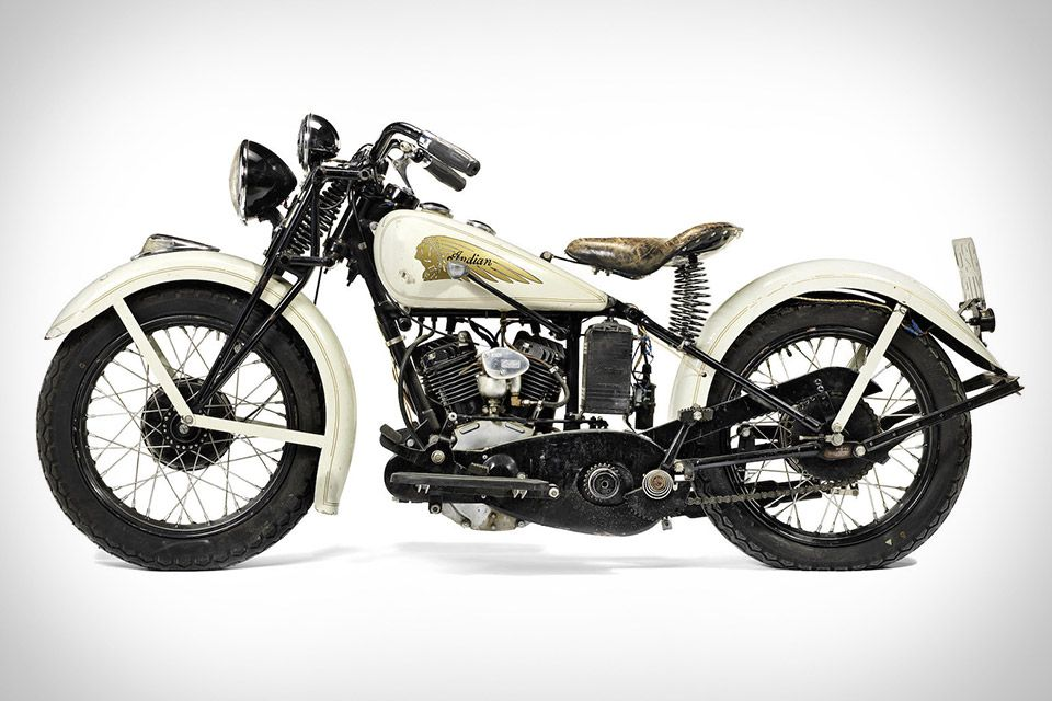 Steve Mcqueen S 1934 Indian Sport Scout Motorcycle Vintage Indian Motorcycles Indian Motorbike Indian Motorcycle Scout