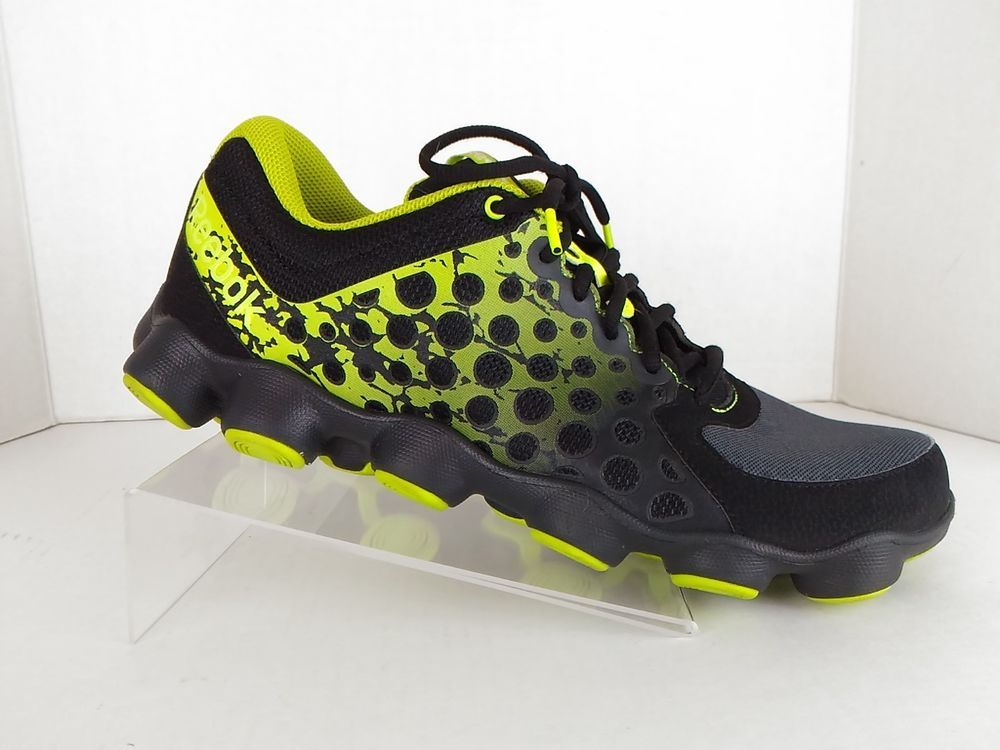 ATV 19 Plus Mens Black Running Shoes