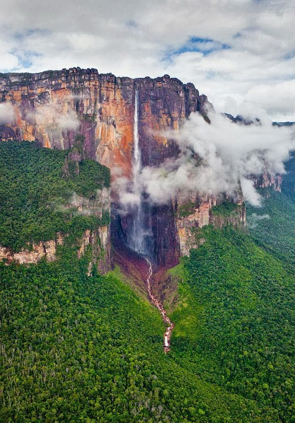 Angel Falls Venezuela the same waterfall from the