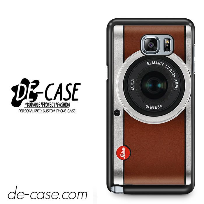 Tanned Leather Leica Camera For Samsung Galaxy Note 5 Case Phone Case Gift Present YO