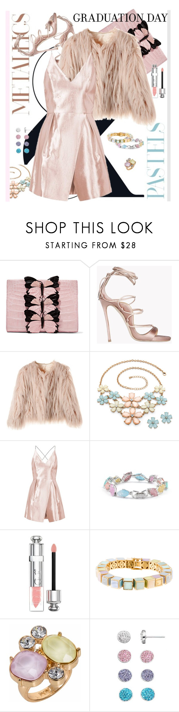 """Pastels"" by ane-ana ❤ liked on Polyvore featuring Nancy Gonzalez, Dsquared2, Topshop, Cielle London, Christian Dior, Eddie Borgo and Nadia Minkoff"