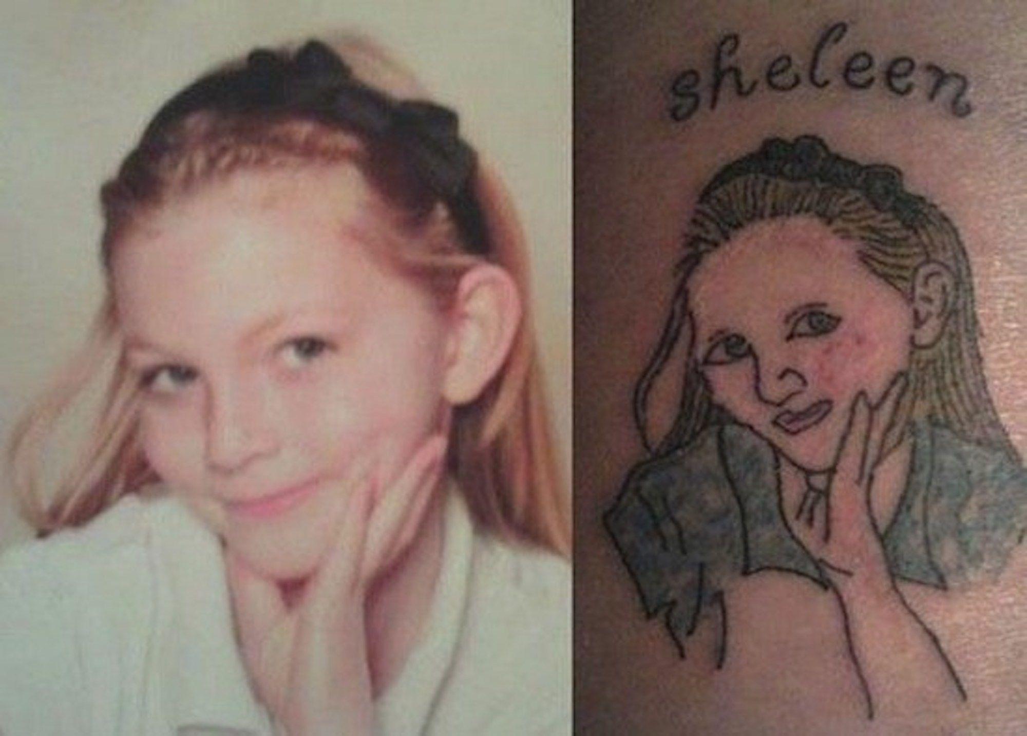 25 Funniest Portrait Tattoo Fails Tatuajes Divertidos Tatuajes