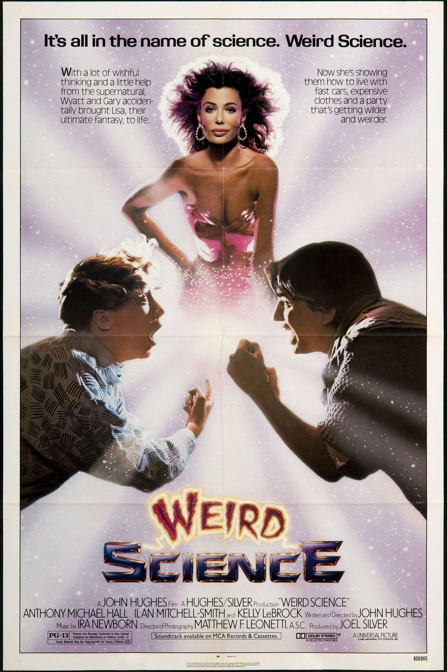 """1985's """"Weird Science"""" Weird science movie, Science"""
