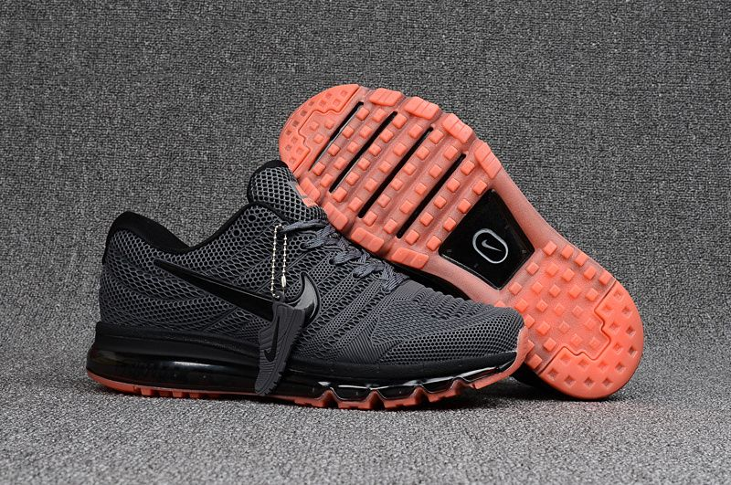 innovative design ed557 f993a Men s Nike Air Max 2017 KPU Shoes Shoes Coral Black