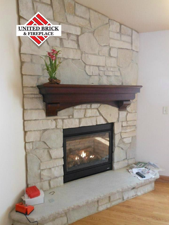 Fireplace Updated By United Brick And Fireplace Fireplace Update
