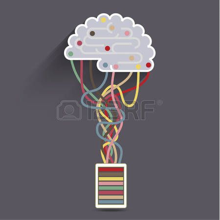 Artificial Intelligence The Brain Is Connected To The Network