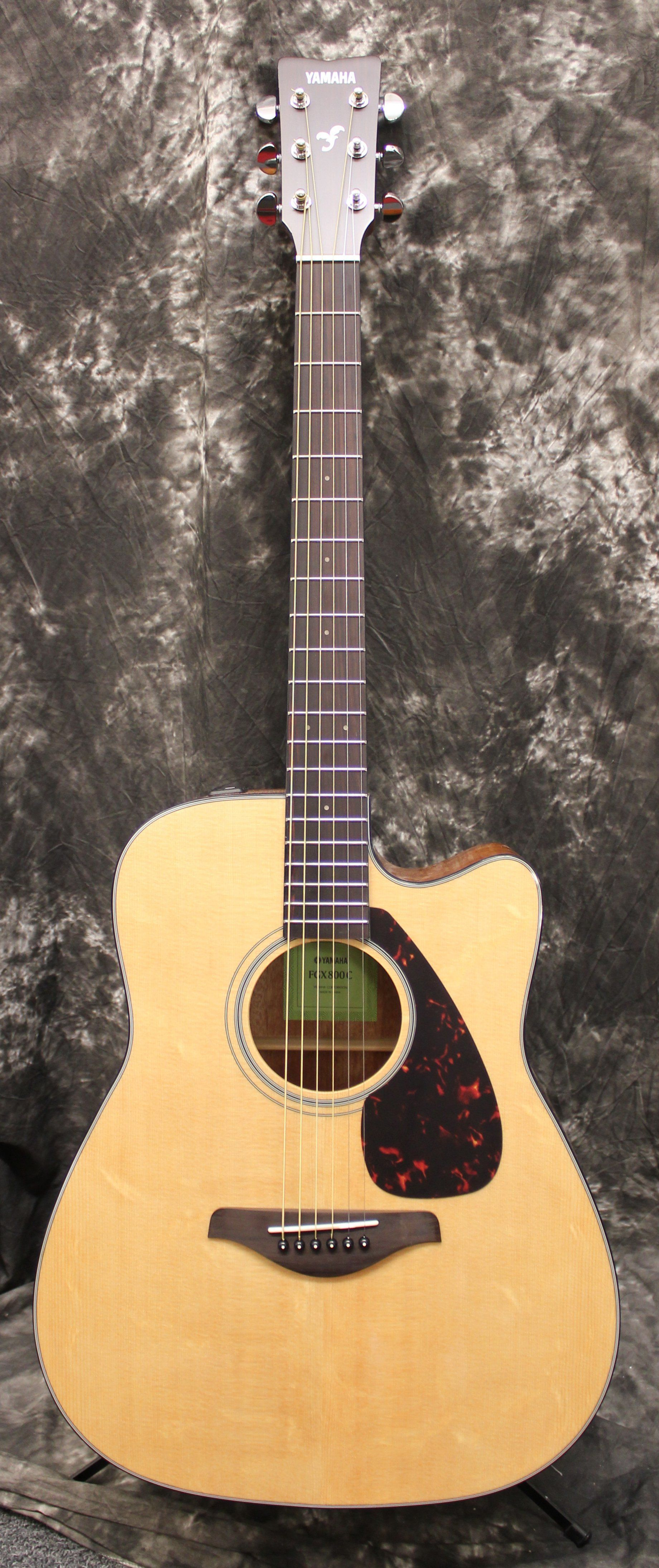 Yamaha FGX800C Acoustic Electric Guitar Natural