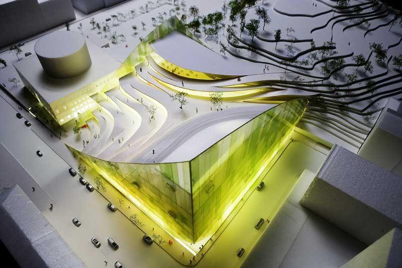Superb Arqsa. Public Library DesignPublic Library ArchitectureModern ...
