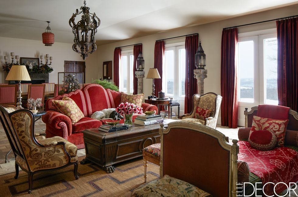 50 Perfect Curtain Ideas For Mastering Living Room Elegance French Country Interiors French Country Living Room Country Style Interiors