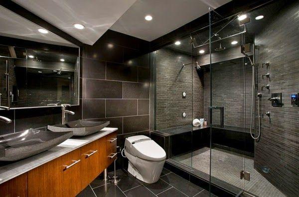 bathroom-color-schemes-with-dark-colors | Bathroom Ideas ...