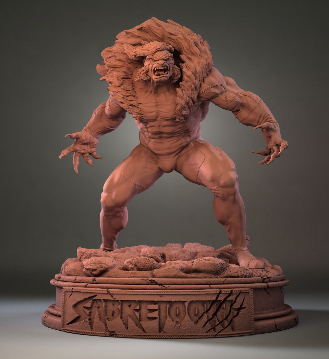 Sabretooth, Jose Pericles on ArtStation at http://www.artstation.com/artwork/sabretooth-4978432a-7da1-4e91-8a72-835f49babab1