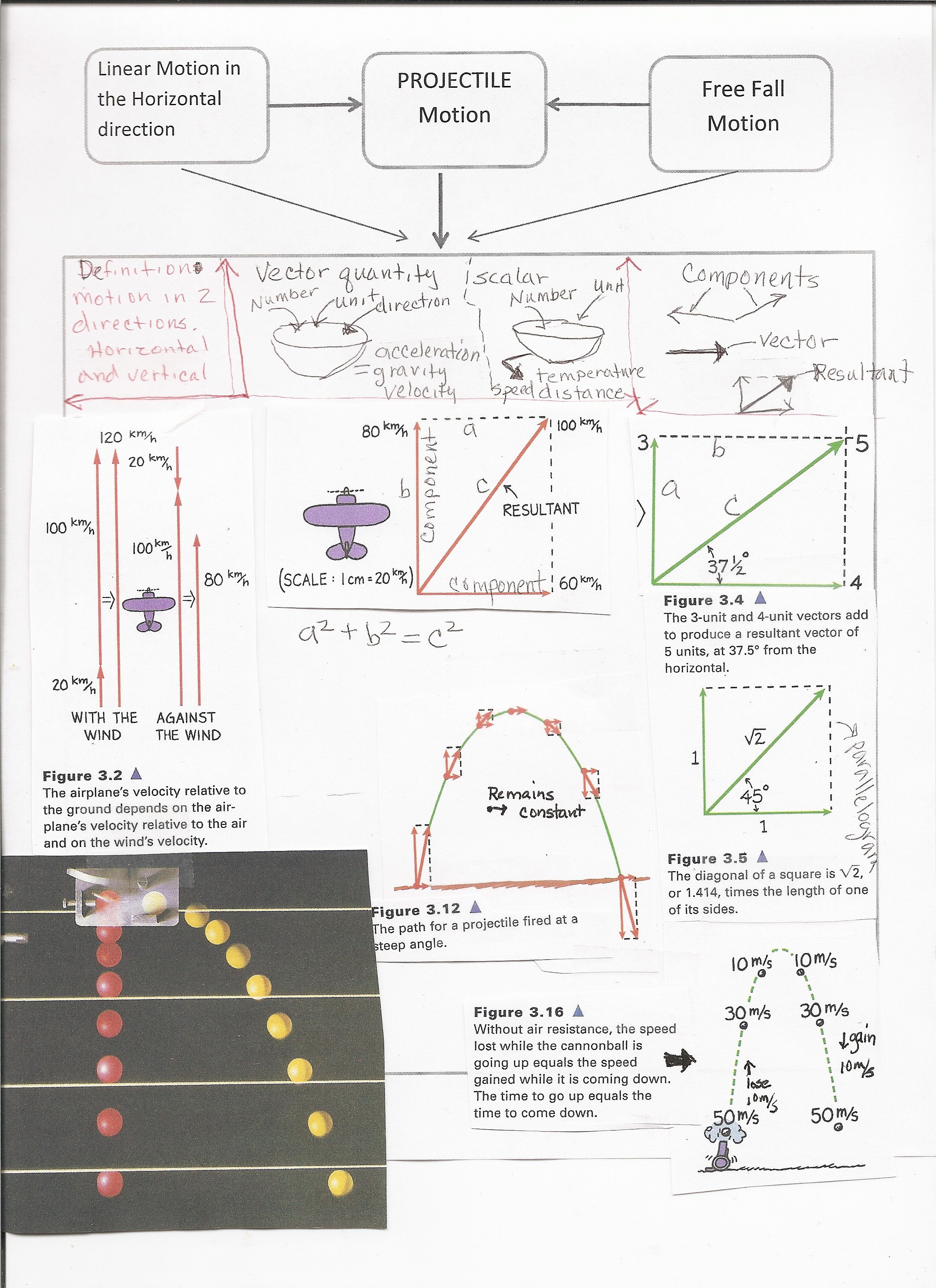 Image result for conceptual physics projectile motion test ...