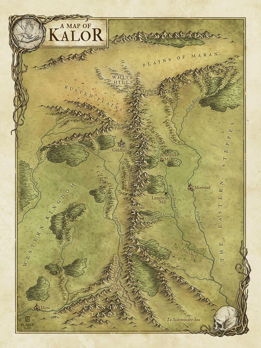 View Fantasy Maps