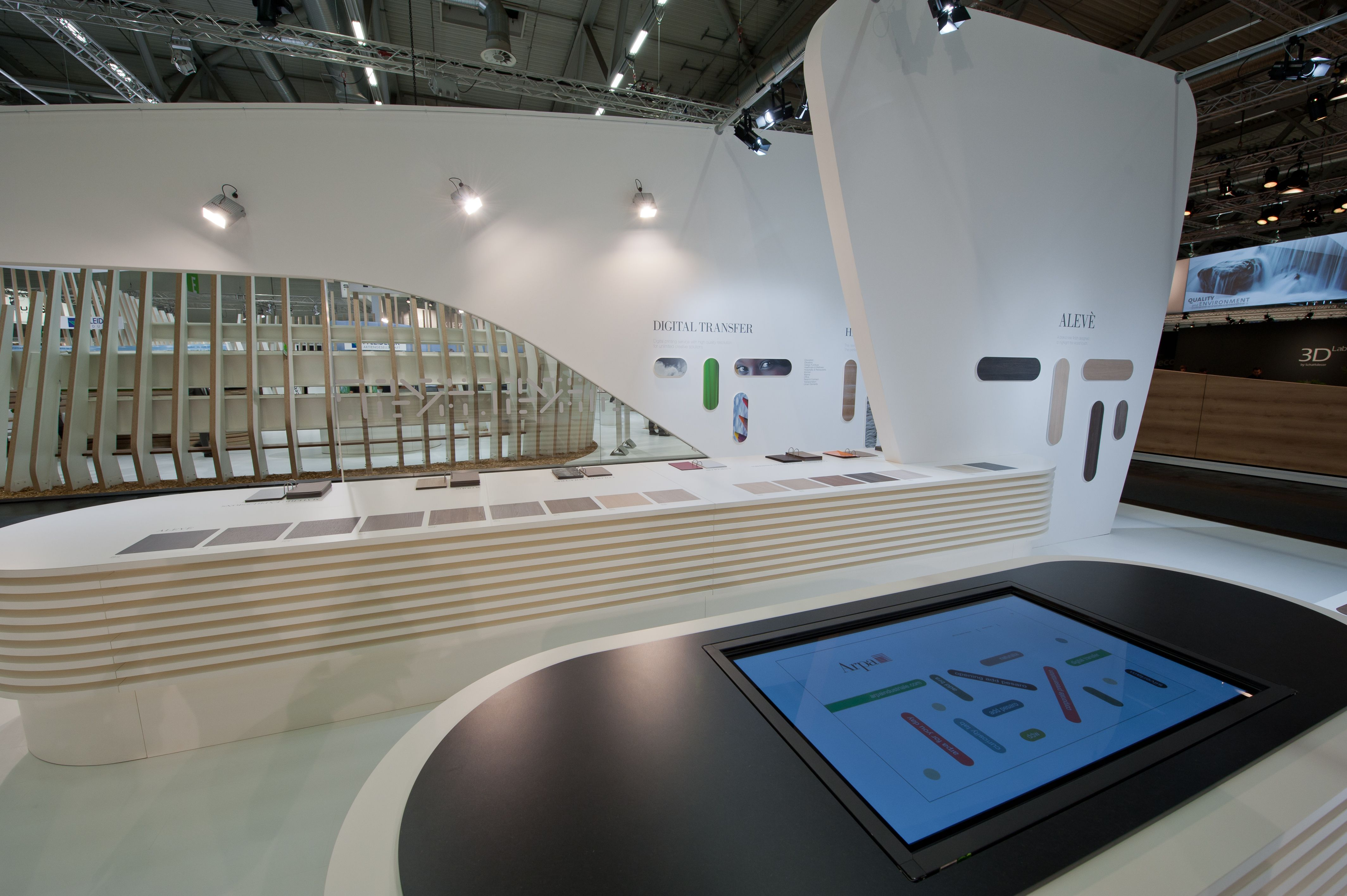 interactive desk made of naturalia, by arpa. arpa lab design, Mobel ideea