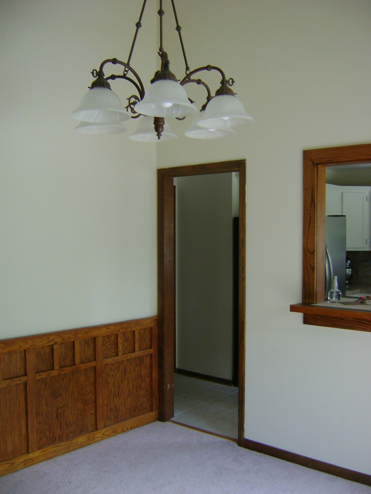 Luxury Painting Trim White before and after