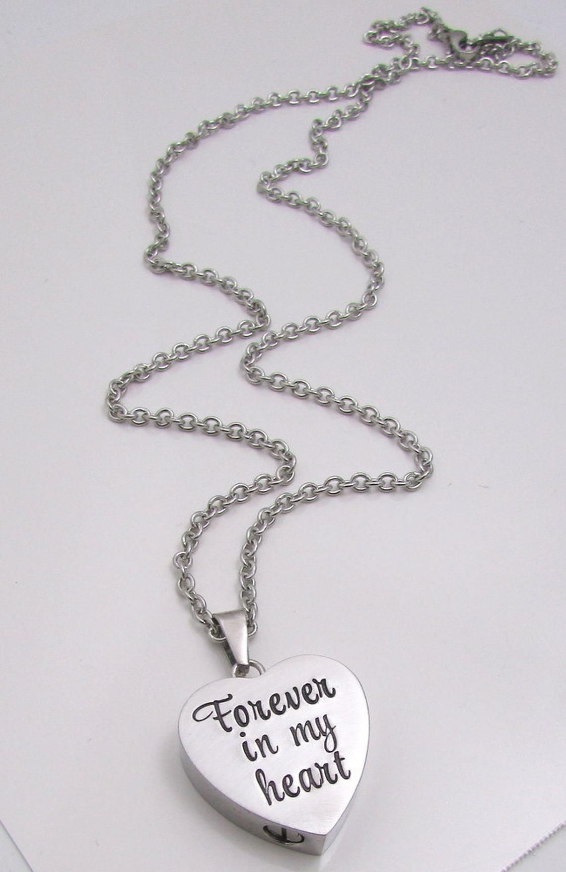 23bd88e929359 Personalized Necklace - Cremation Jewelry - Hand Stamped Necklace ...
