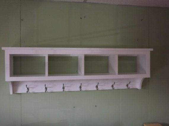 Lovely Wooden Cubby Hole Storage