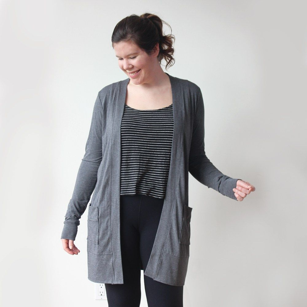 Blackwood cardigan pdf sewing pattern sew your own pinterest i have been working on my second garment pattern for months and it is finally ready for the sewing world introducing drumroll please the blackwood jeuxipadfo Choice Image