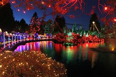 0daee7a9f6d165e6509e9e864bc43fc7 - Van Dusen Botanical Gardens Christmas Lights
