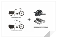 EDGERUNNER 24D + 500W BAFANG MID-DRIVE ELECTRIC KIT Zoom into the Cargo Bike Boom!
