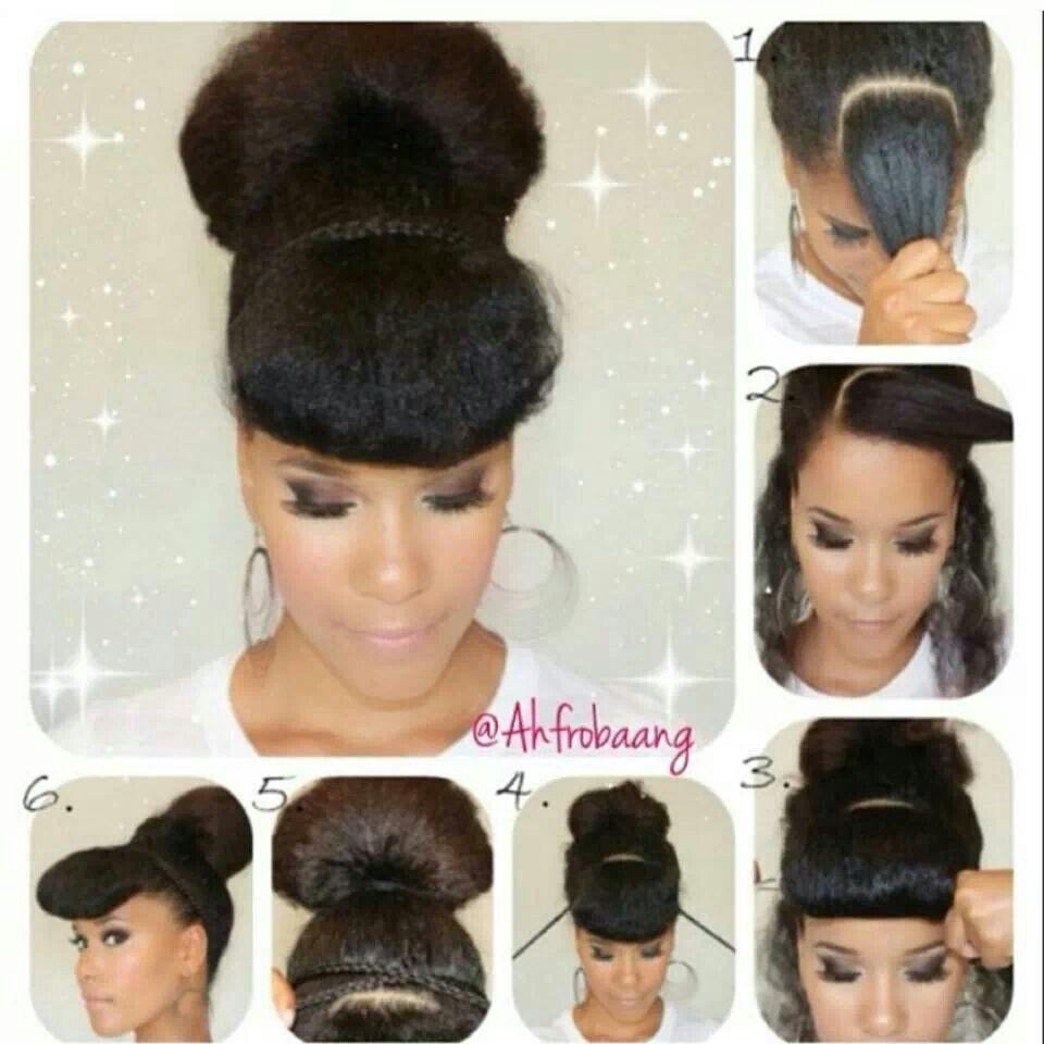 Bun love hair pinterest buns and love