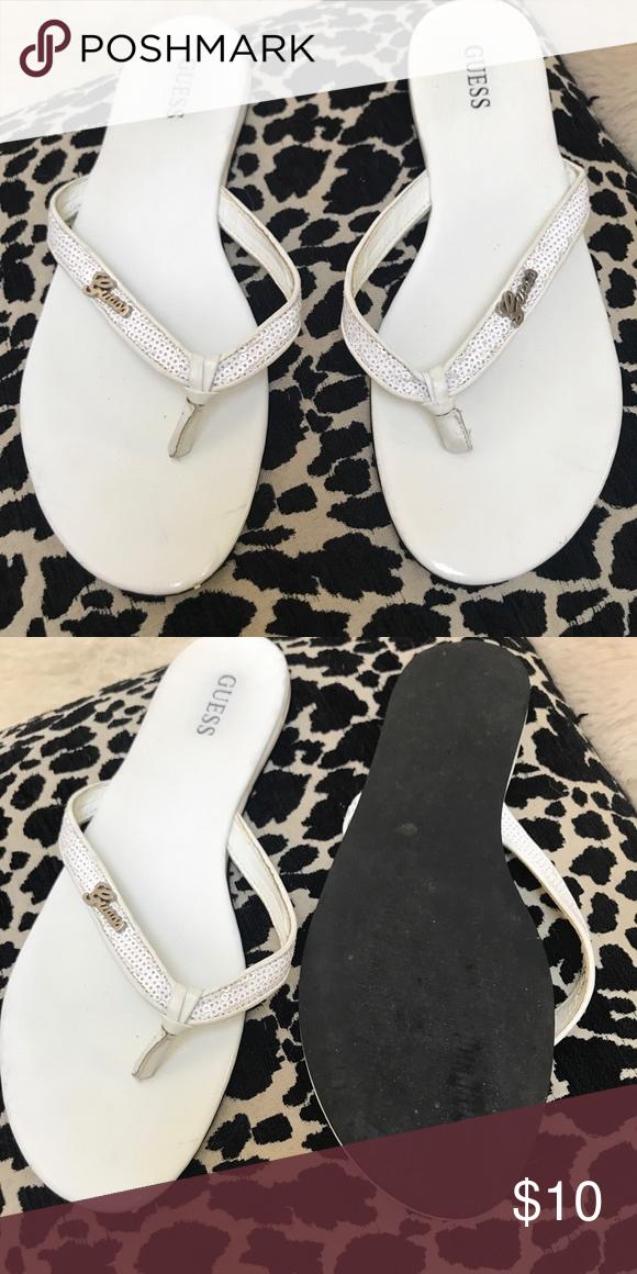 Guess flip flops | Guess shoes, Clothes