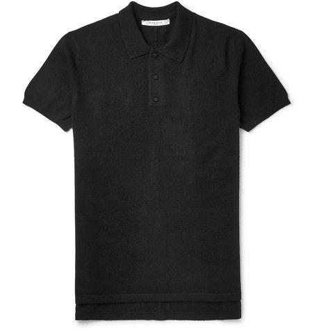 06b57ea7d9 GIVENCHY Columbian-Fit Cashmere Polo Shirt.  givenchy  cloth  polos ...