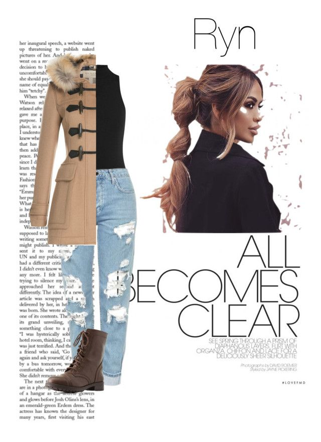 """""""0.5— Ryn"""" by fashion4books ❤ liked on Polyvore featuring Fleur du Mal, Topshop, Burberry and Charlotte Russe"""