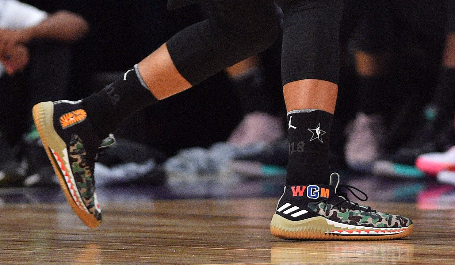 Who had the best sneakers in the NBA All-Star Game? Damian Lillard Adidas  ...