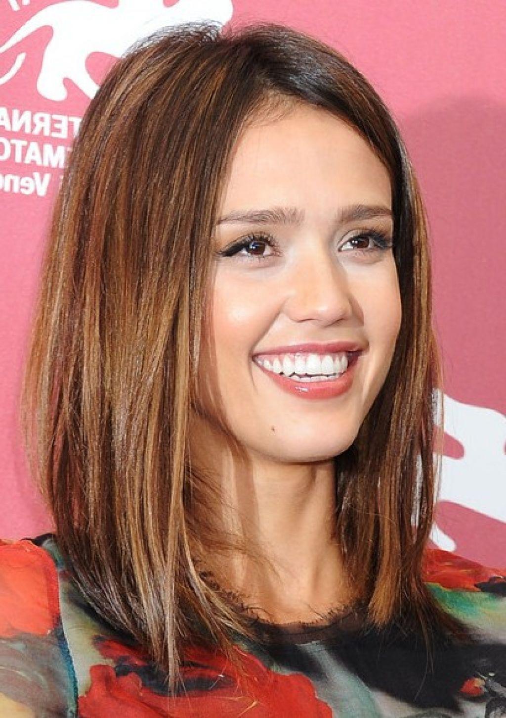 stunning straight medium hairstyles photos - women medium haircuts