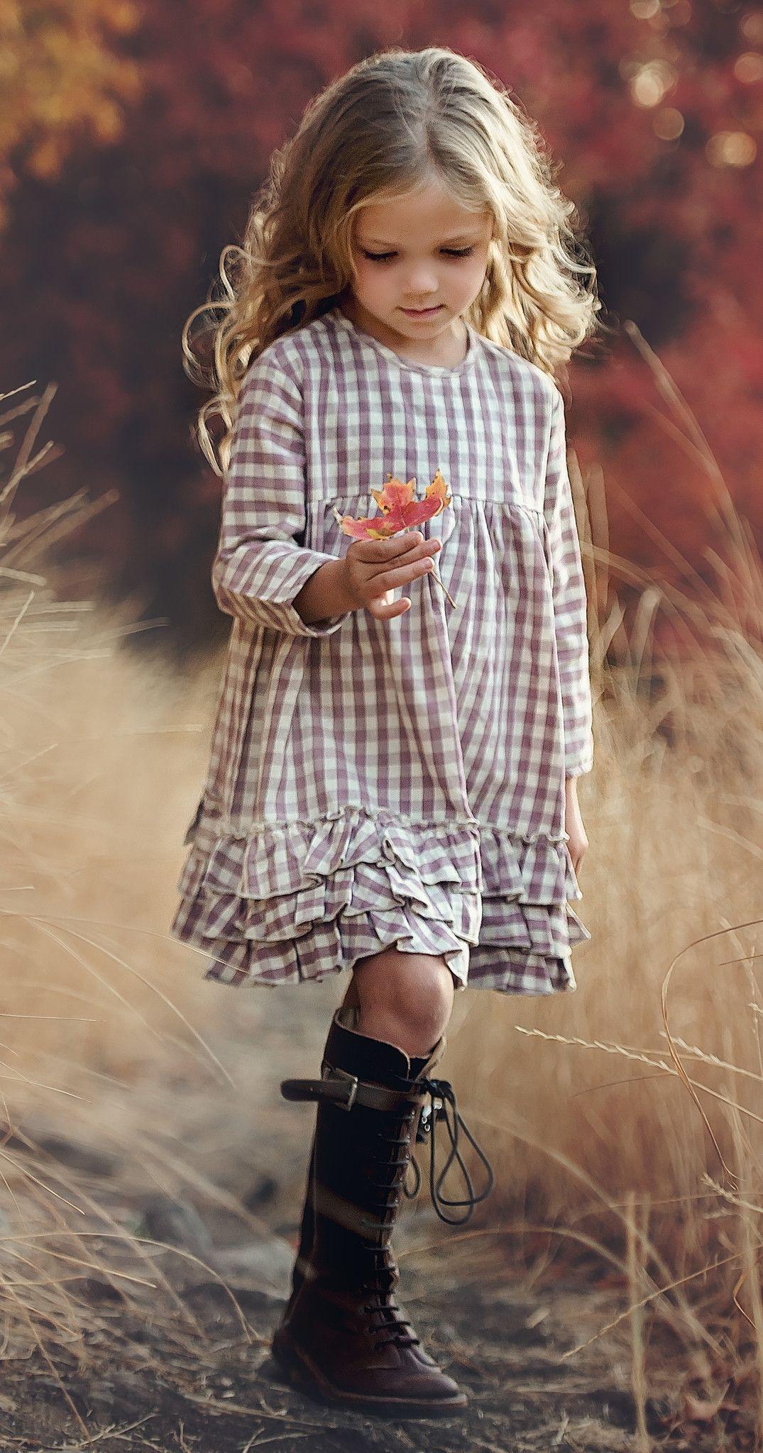 Greta in Winter Plum   Chic@s   Pinterest   Mädchenkleider, Kleine ...