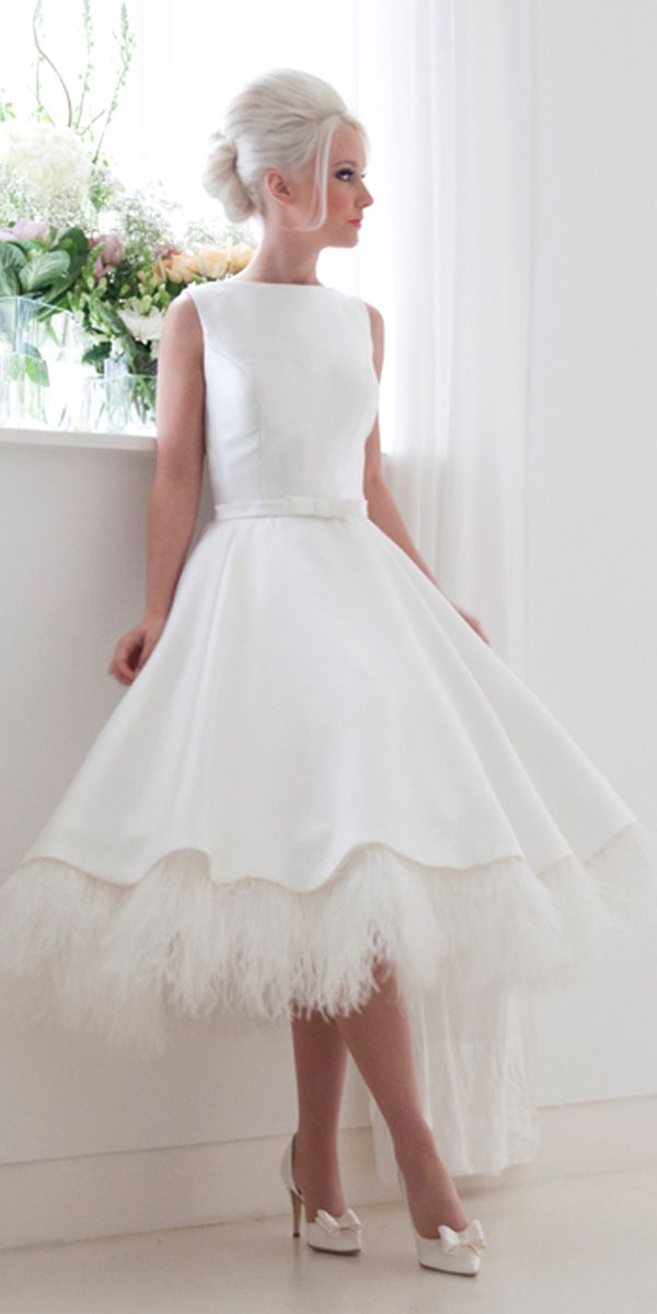 24 Gorgeous Tea Length Wedding Dresses Wedding Forward Tea Length Wedding Dress Vintage Tea Length Wedding Dress Short Wedding Dress