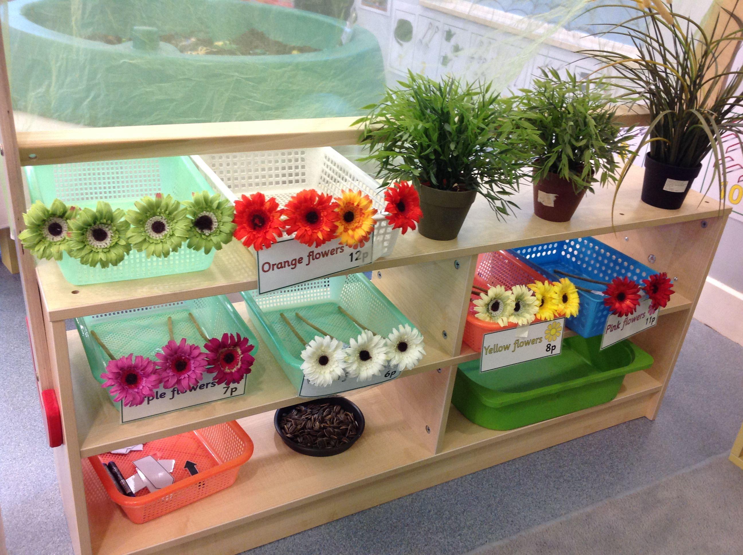 Older Nursery Role Play Garden Centre