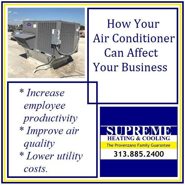 Managing Air Conditioning Efficiency Can Be As Simple Scheduling Yearly Preventive Maintenance With Supreme