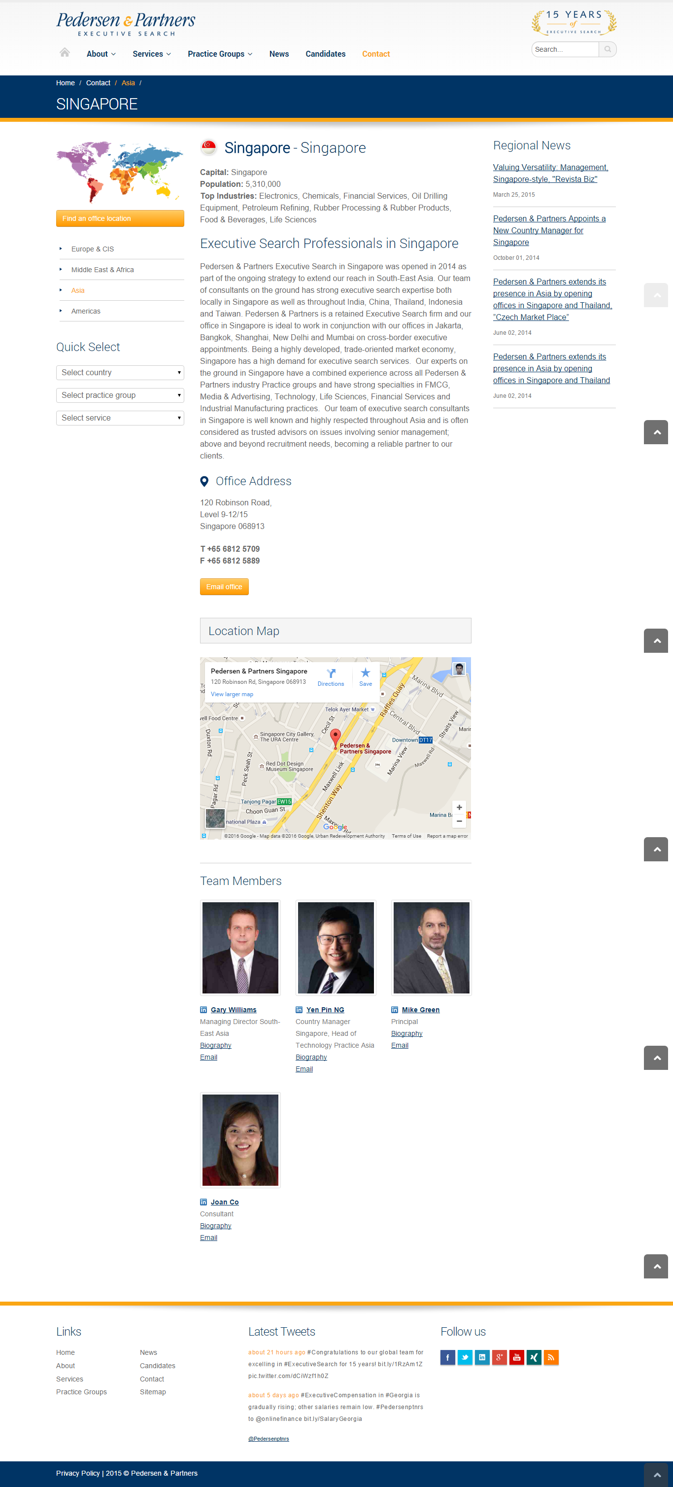 awesome Website Design Proposal for Kelly Services Singapore