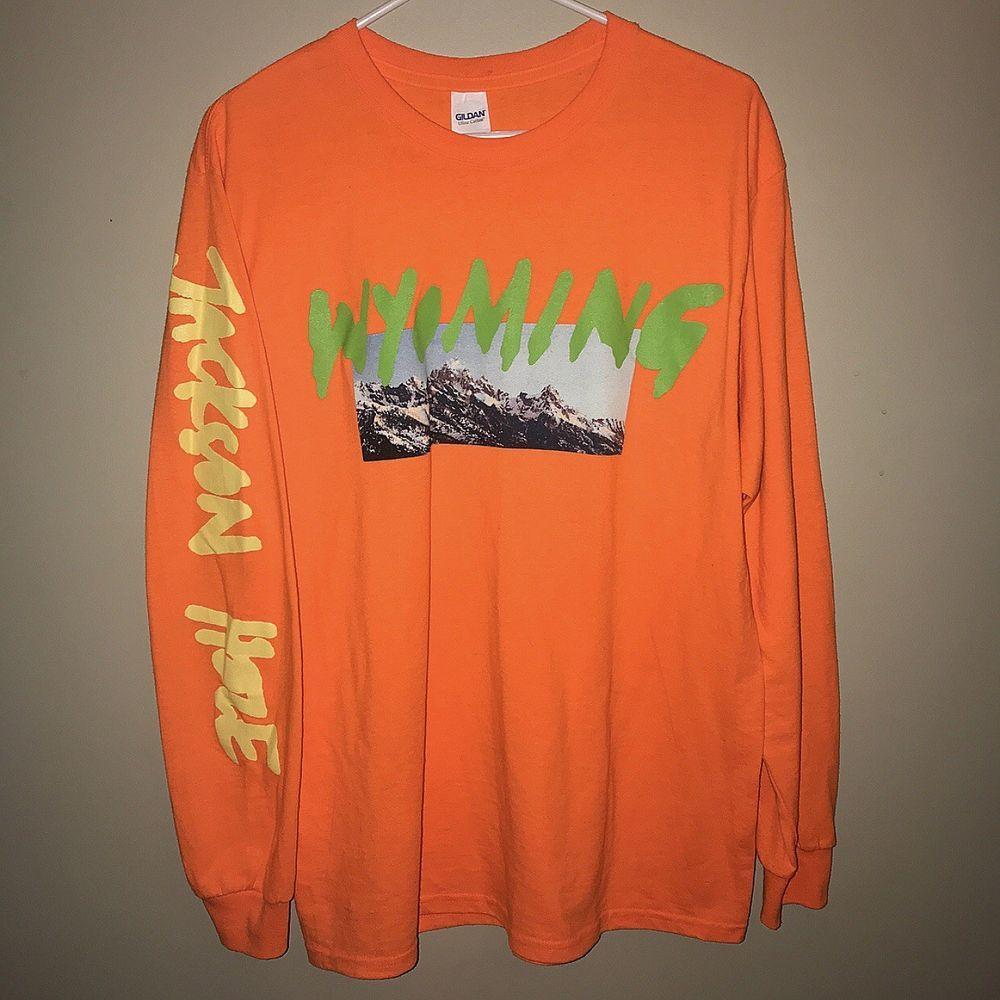 Kanye West Ye Wyoming Listening Party Long Sleeve T Shirt Size Medium Fashion Clothing Shoes Accessories M Long Sleeve Tshirt Shirt Size Kanye West