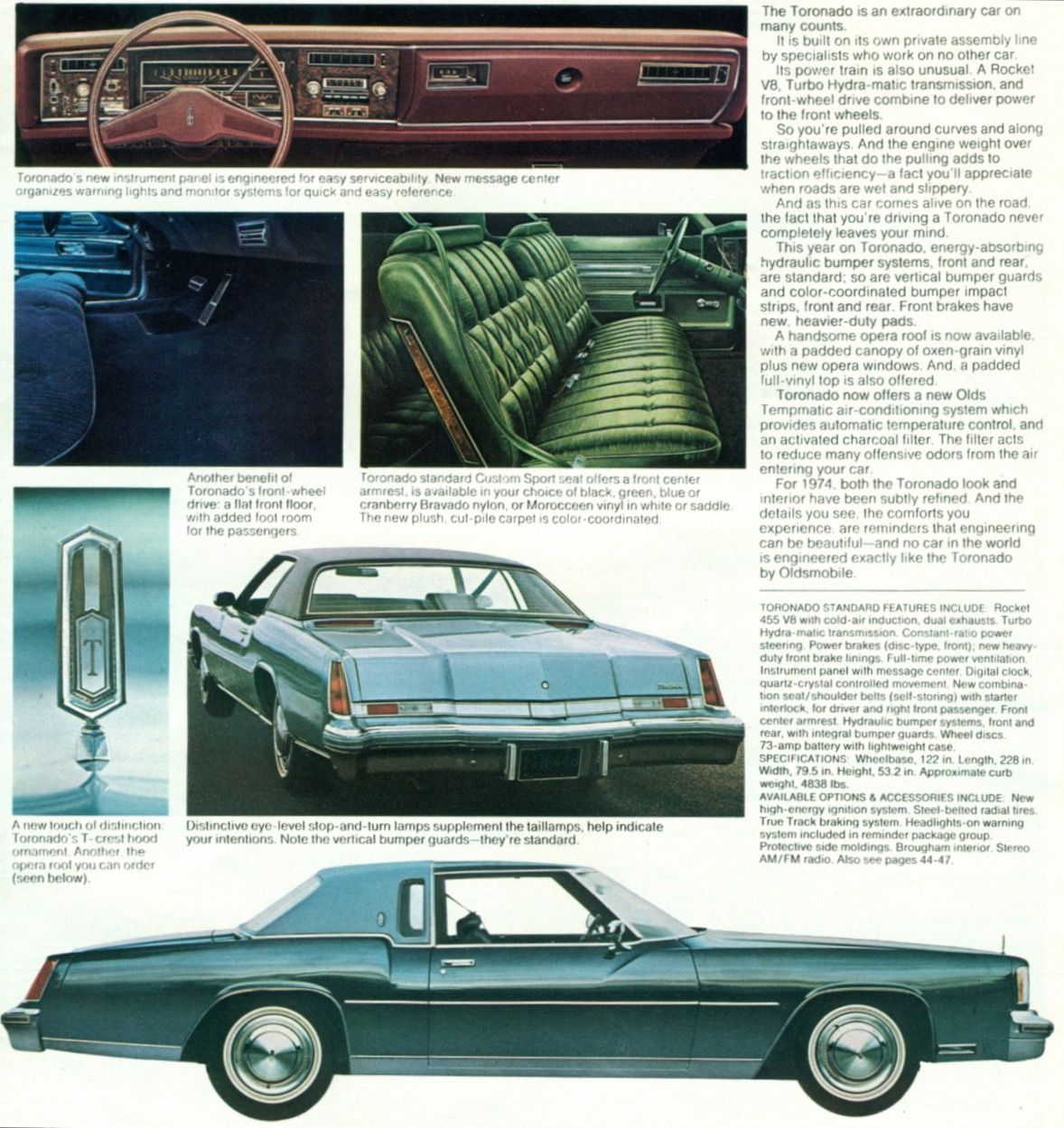 Pin By Michael Clark On Carros Oldsmobile Toronado Oldsmobile Automobile Advertising