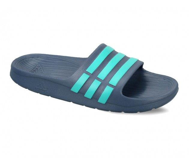 b6422acbf Adidas Duramo Slide Blue Kids Flip Flops Perfect blend of comfort and  style! Clean