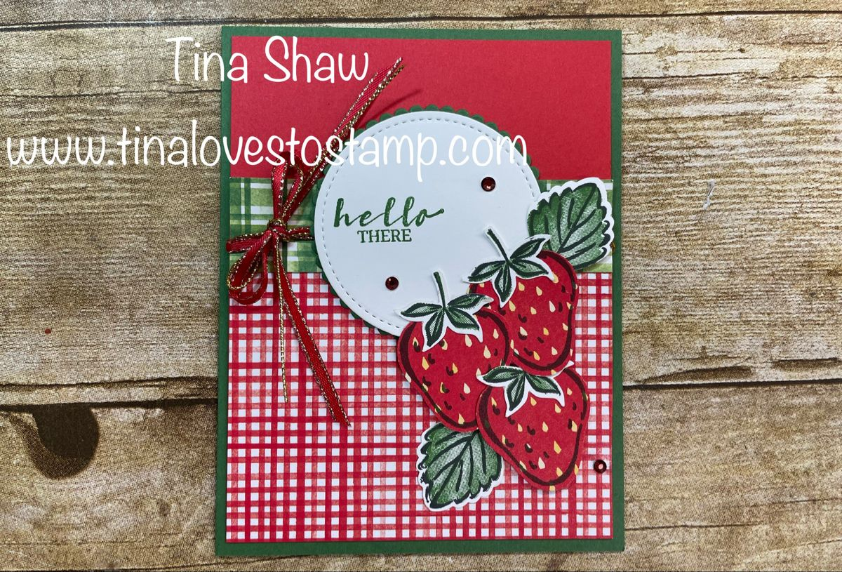 Sweet Strawberry Card