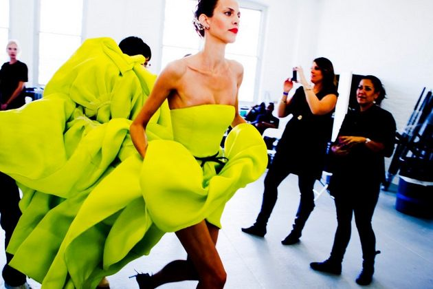 #ridecolorfully with a flowy dress trailing behind you