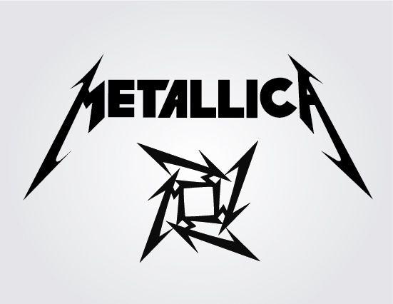 Metallica Rock Band Vector Logo Lamb Pinterest Metallica Rock