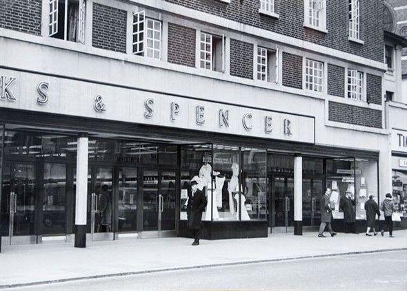 M & S right next to Timothy Whites, London Road, Brighton