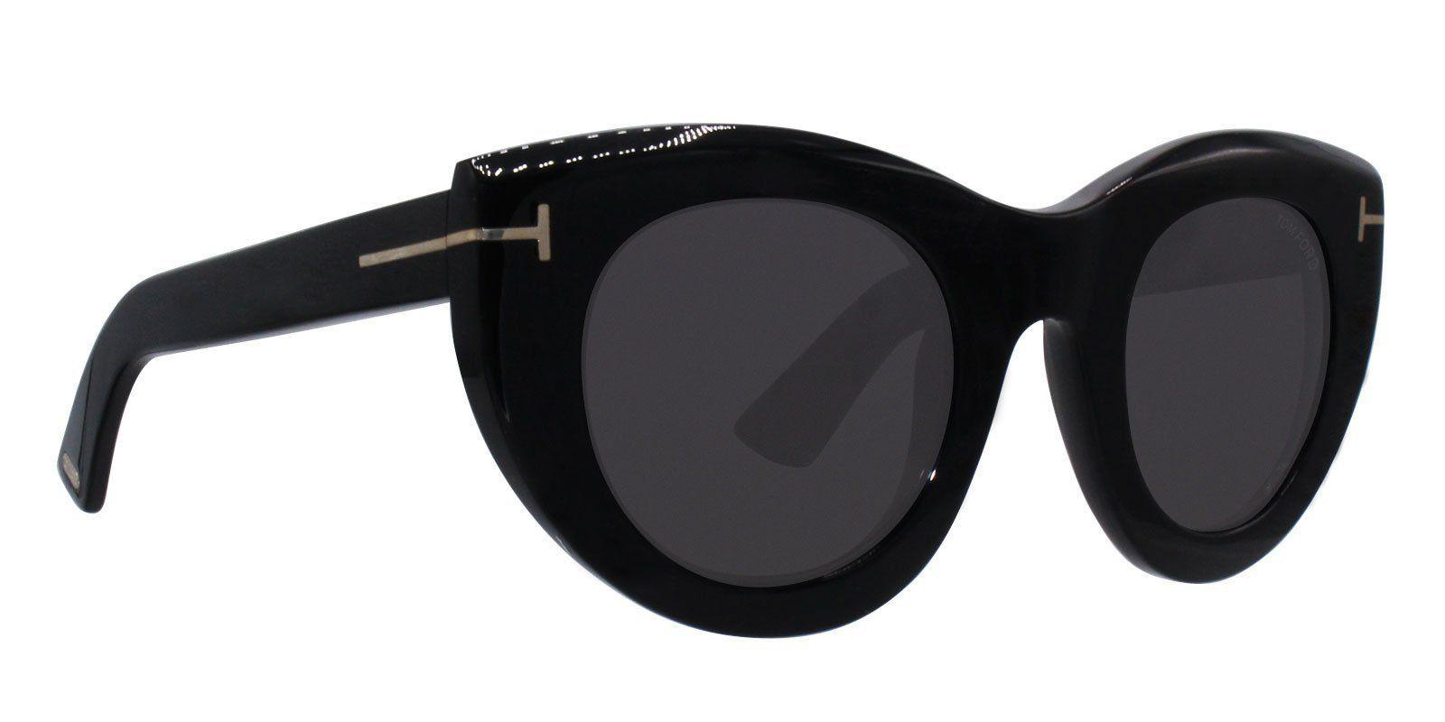 ba127c7f7e6d Tom Ford - Marcella-02 Black - Gray-sunglasses-Designer Eyes